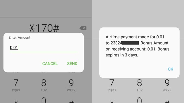 Buy Airtime MTN            Mobile Money