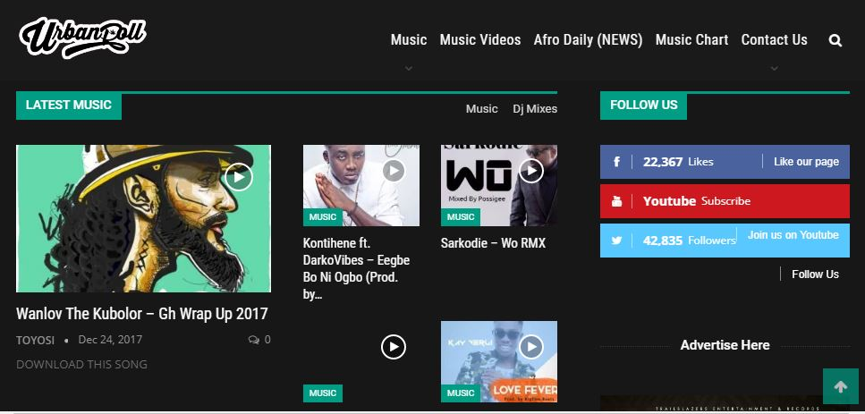 5 Websites you can Download Free Ghana Songs